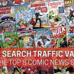 How Much is the Search Traffic for the Top 8 Comic News Sites Worth?
