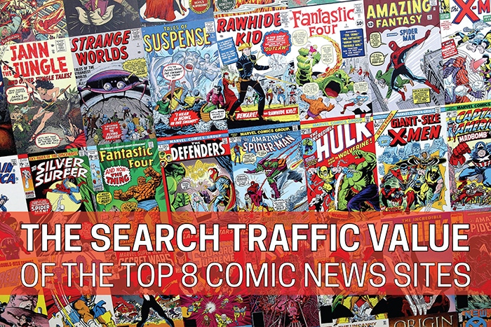 comic news sites header graphic