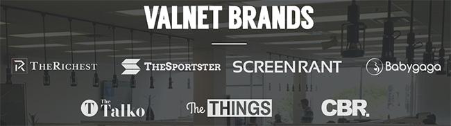 Valnet Brands