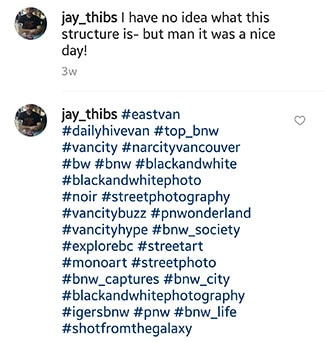 30 instagram hashtags in second comment