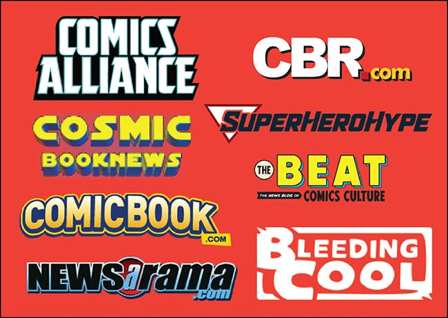 top 8 comic book news sites