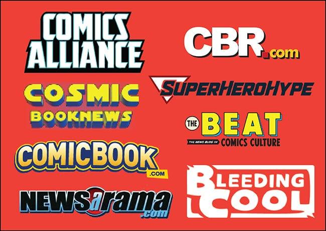 top 8 comic book news sites