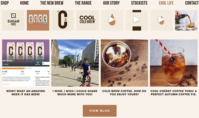 coolcoldbrew.co.uk website