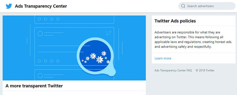 twitter ads policies