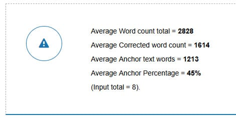 average word count