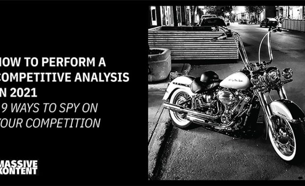 How to perform a competitive analysis